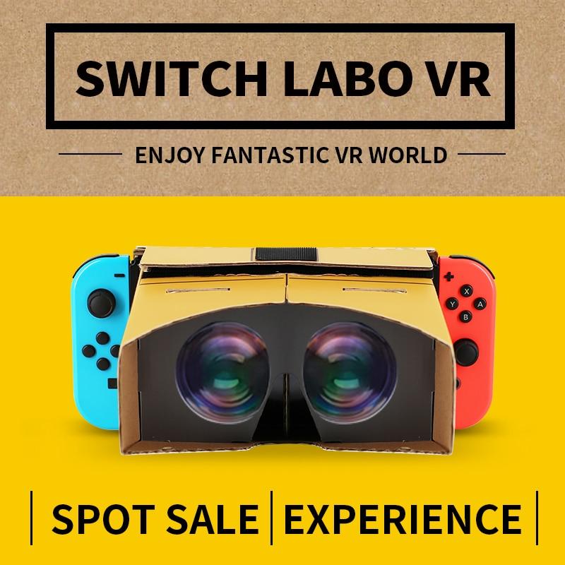 Nintend Switch LABO VR Glasses 3D Movies Game Virtual Reality Glasses For Nintend Switch Accessories Folding Cardboard Glasses