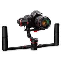 FY FEIYUTECH A2000 3 оси ручной Карданный с двойной ручка 2 кг полезной нагрузки Поддержка 12 h Управление время цифровых зеркальных камер Запчасти дл
