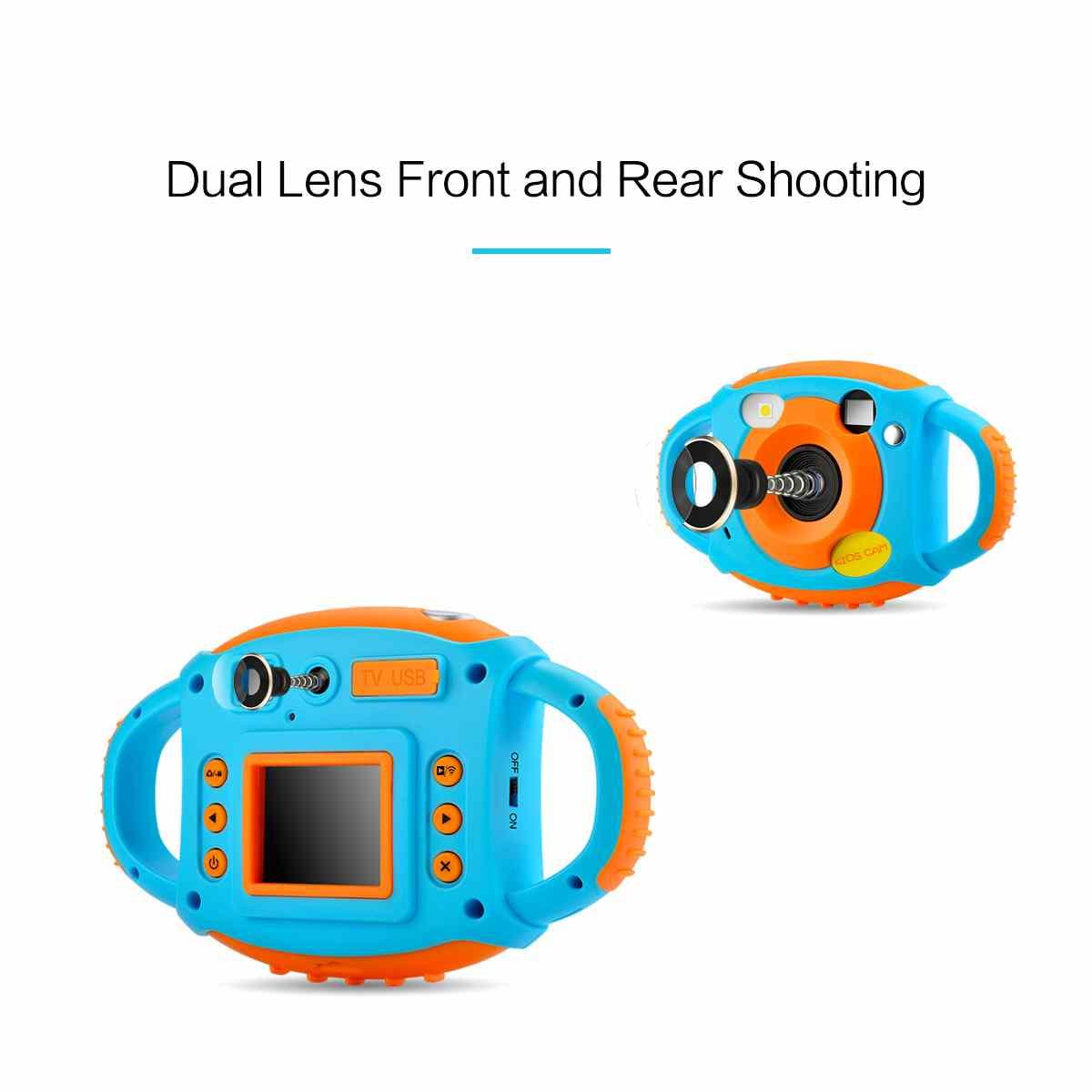1080 P double caméra enfant en bas âge jouets caméra éducative Mini appareil Photo numérique photographie cadeau enfants caméra - 2