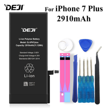 Deji Battery For iPhone 7 Plus 7P 7Plus Apple iPhone7 2910mAh Li-polymer Batteries+Tools
