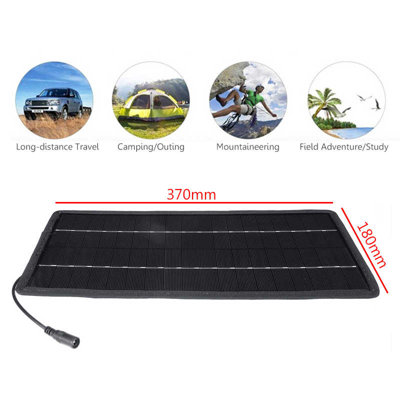 15W Solar Panel 5V 12V Portable Mini DIY Module Panel System For Battery Cell Phone Chargers Portable Solar Cell
