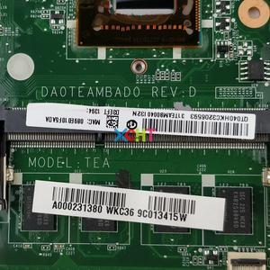 Image 5 - A000231380 DA0TEAMBAD0 w I5 3317U CPU dla Toshiba Satellite U845W U840W Laptop Notebook płyta główna do komputera płyta główna