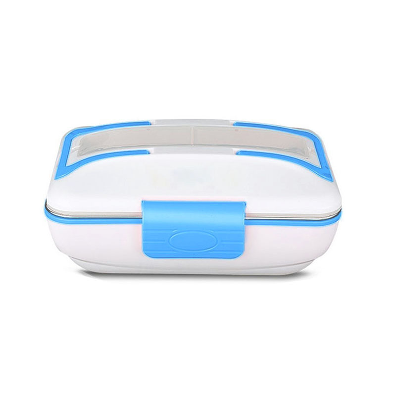 Электротепловой ланч коробка из нержавеющей стали Ланч бокс портативный деление электротепловой сохранение тепла коробка тепла рисовая м... - 3