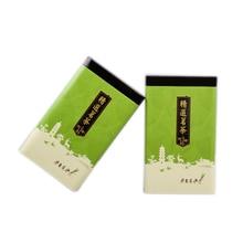 شين جيا يي تغليف الشاي صندوق معدني حزمة القرآن صندوق هدية زجاجة النبيذ 18 بوصة كبيرة الحجم رائجة البيع الملونة الشاي الأخضر علبة الصفيح
