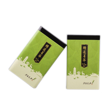 Xin Jia Yi Ambalaj Çay Metal Kutusu Kuran hediye paketi kutusu şarap şişesi 18 inç Büyük Boy Sıcak Satış Renkli YEŞİL ÇAY teneke kutu
