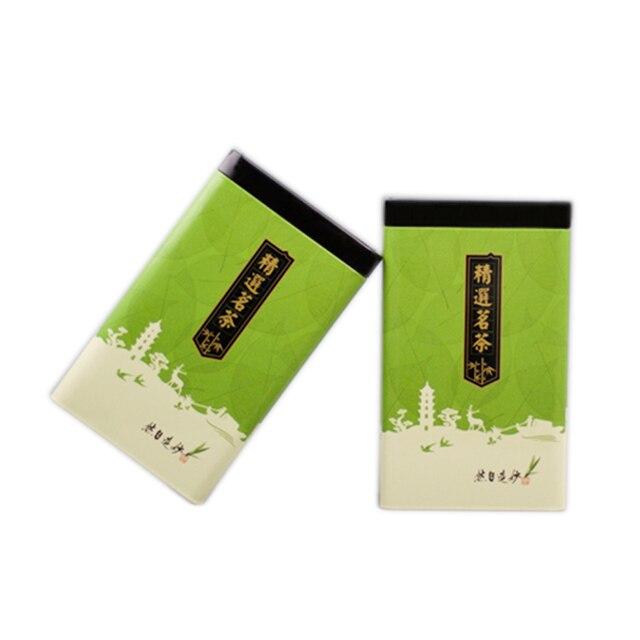 Xin Jia Yi Verpakking Thee Metalen Doos Koran Pakket Gift Box Wijn Fles 18 inch Grote Maat Hot Koop Kleurrijke groene Thee Blikje