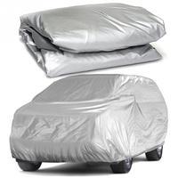Universal tampas de carro cheio neve gelo poeira sol uv sombra capa luz prata tamanho S XXL carro auto ao ar livre protetor capa|Capas de carro| |  -