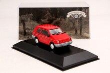 IXO 1:43 Scale Gurgel BR 800SL 1991 Car Diecast Toys Models Limited Edition Collection Red auto inn ixo 1 43 gurgel carajas corpo de bombeiros diecast model car