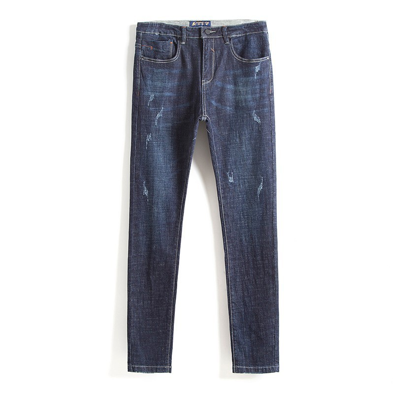 Pioneer Camp New Spring Jeans Men Brand Clothing Fashion Straight Denim Trousers Denim Pants For Men