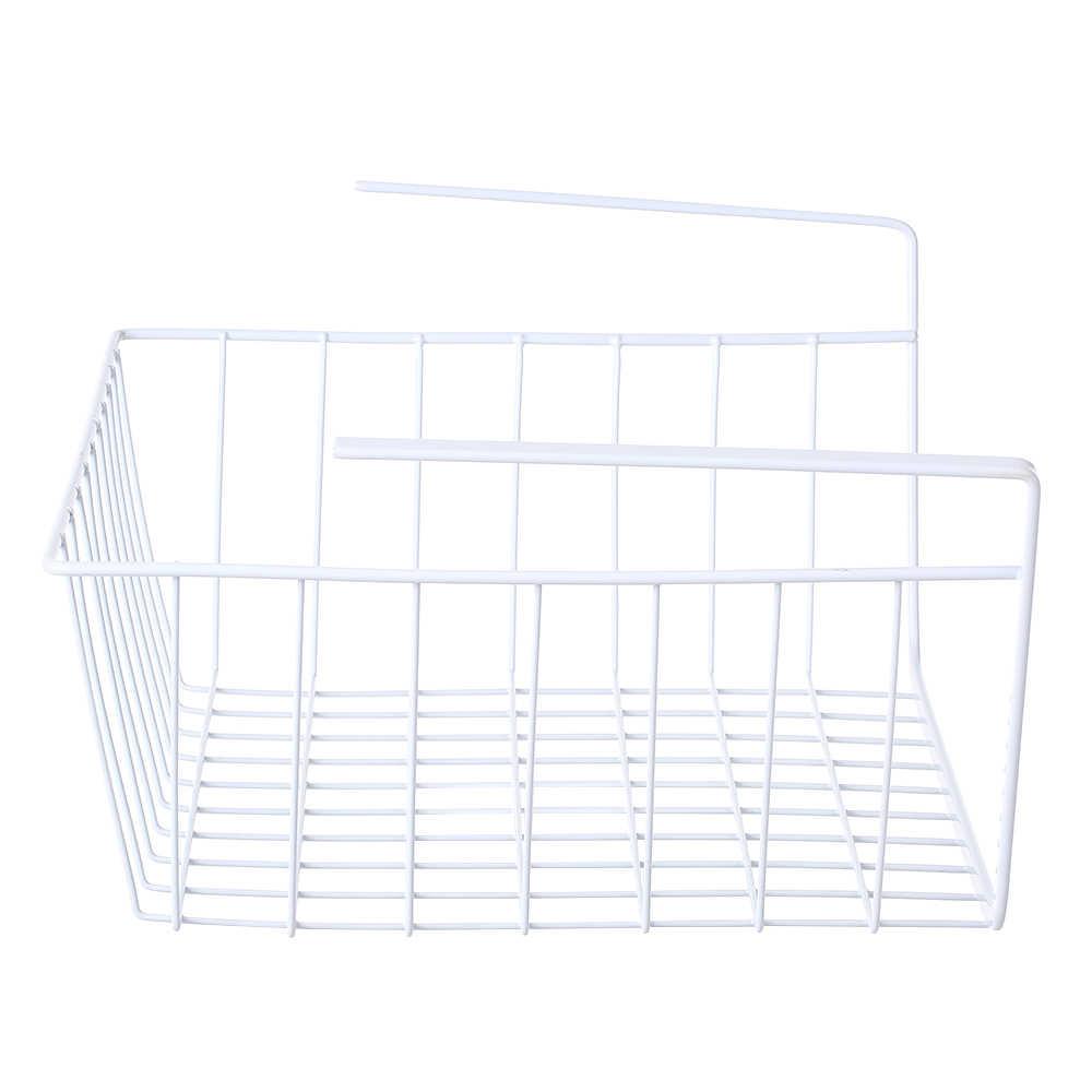 Kitchen Storage Basket Metal Wire Under Shelf Hanging Storage