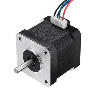 Image 1 - 42BYGH40 1704B Nema17 Stepper Motor 1.8 Degree 42mm Dual Shaft 1.7A Motor for CNC Engraving Machine High Quality