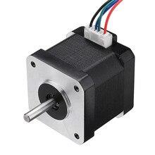 42bygh40 1704b nema17 motor deslizante 1.8 graus 42mm duplo eixo 1.7a motor para máquina de gravura do cnc alta qualidade