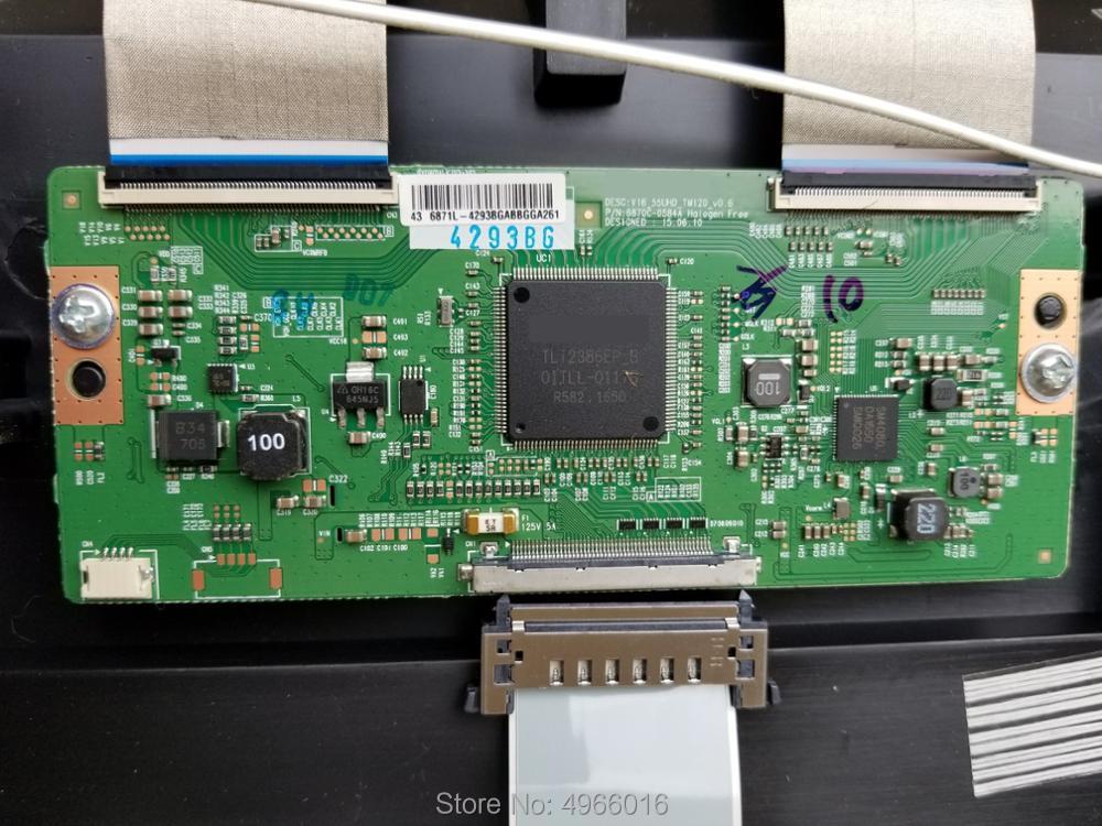 Verantwortlich Original Logic Board 6870c-0584a 43/49/55 Zoll Dj Ausrüstung Zubehör Professionelle Audiogeräte Tragbares Audio & Video