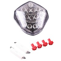 Clear For Suzuki GSXR1000 2003 2004 LED Integrated Turn Signal Tail Light Motorcycle