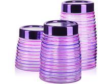 Набор банок для сыпучих продуктов MAYER & BOCH, 3 предмета, розовый