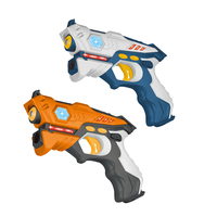 NEW 4Pcs Children adults Infrared Laser Tag Blaster Laser Battle Pack Indoor Outdoor Family Activity toys Top Quality