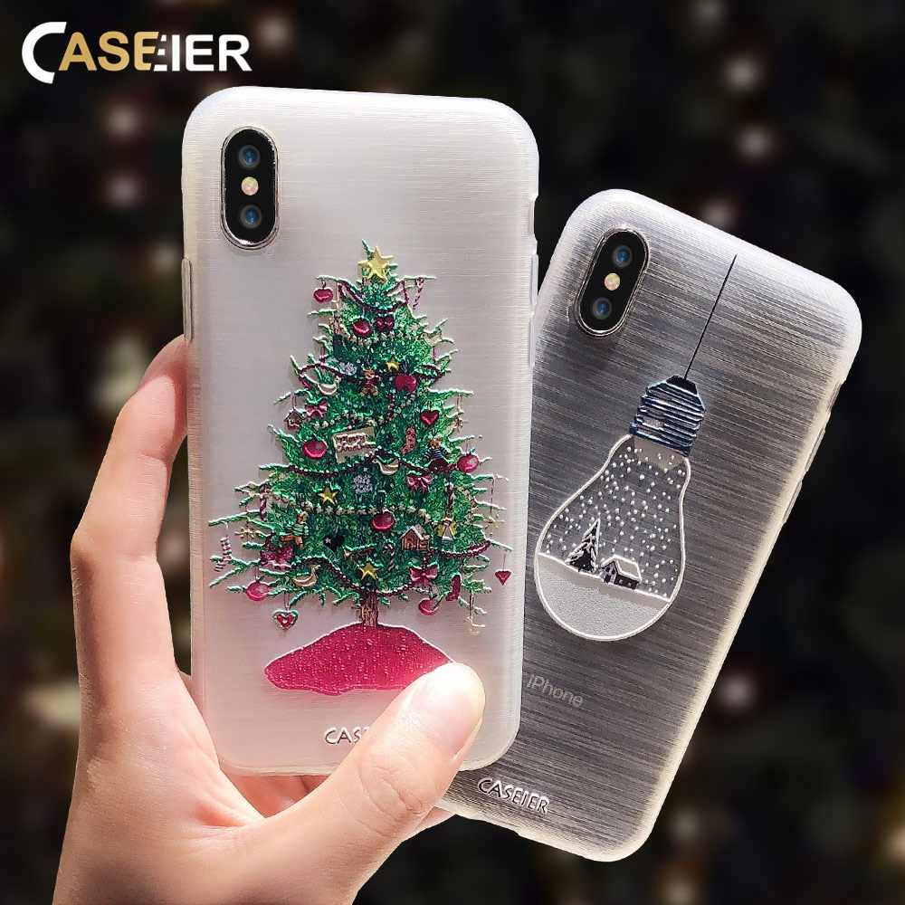 CASEIER Christmas Elements Case For Huawei P20 P30 Lite Honor 10 8X Soft TPU Phone Case For Huawei P Smart P9 Mate 20 Lite Funda