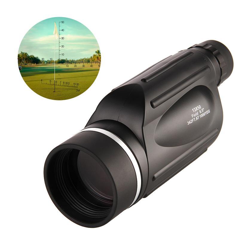 13x50 HD Monoculars Waterproof Rangefinder Binoculars Telescope Monocular night vision monocular for Outdoor Hunting Travel Camp-in Monocular/Binoculars from Sports & Entertainment