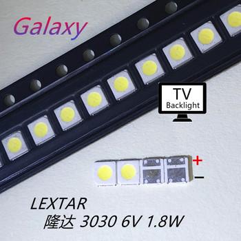 Lextar dobre wysokiej dioda led dużej mocy podświetlenie 1 8 W 3030 6 V zimny biały 150-187LM PT30W45 V1 do tv 3030 500 sztuk tanie i dobre opinie AZONG LAN CN (pochodzenie) LEXTAR30306