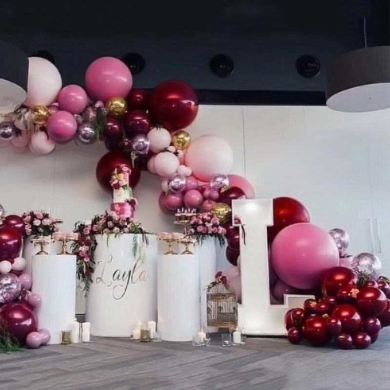 Natural Artificial Cotton Plants Flower Home Wedding Party Decor Wreath I6B5