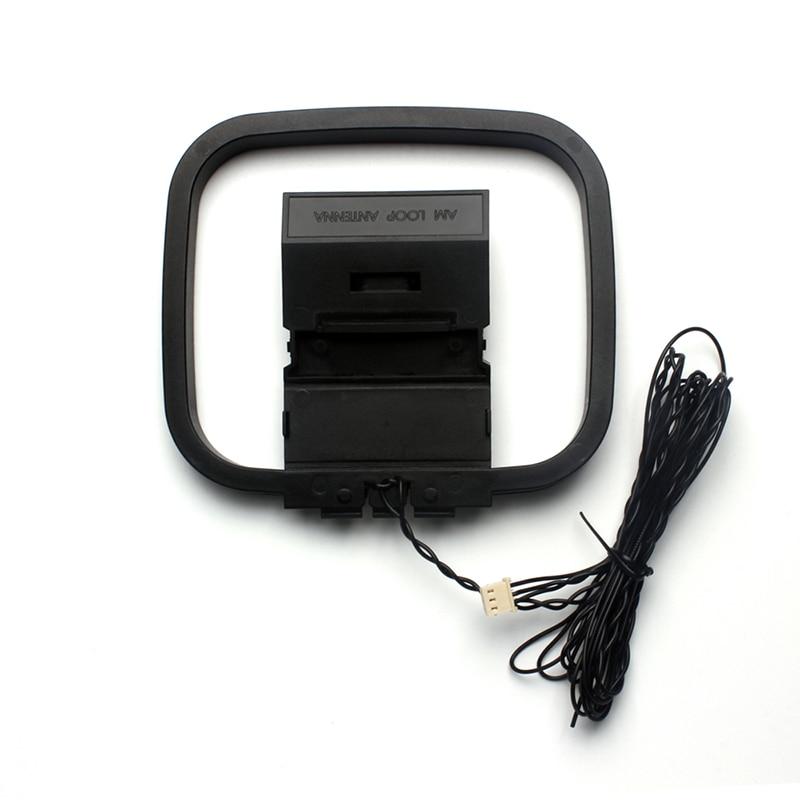Универсальная Антенна FM AM Loop для приемника с 3-контактным мини-разъемом для Sony Sharp Chaine Stereo av-ресиверов, 1 шт.