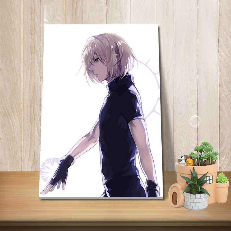 modular painting picture by numbers yuri on ice anime posters diy painting by numbers wall paintings drawing by numbers