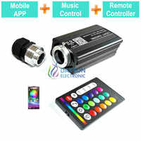 Music Activated RGBW Led Light Engine for Car Home Use RF Remote Controller/Mobile APP Smart Phone Easy Control Light Source
