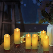 LED Candles Remote Control Electronic Flameless Breathing Candle Lights Wedding Party Christmas Decoration led candles remote control electronic flameless breathing candle lights wedding party christmas decoration