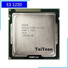 Intel Xeon E3-1220 E3 1220 3,1 GHz Quad-Core CPU procesador 8M 80W LGA 1155