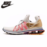 Nike Shox Gravity New Arrival Men Running Shoes Aaron Greg Thomp Breathable Comfortable Shoes Light Sneakers #AQ8553 009