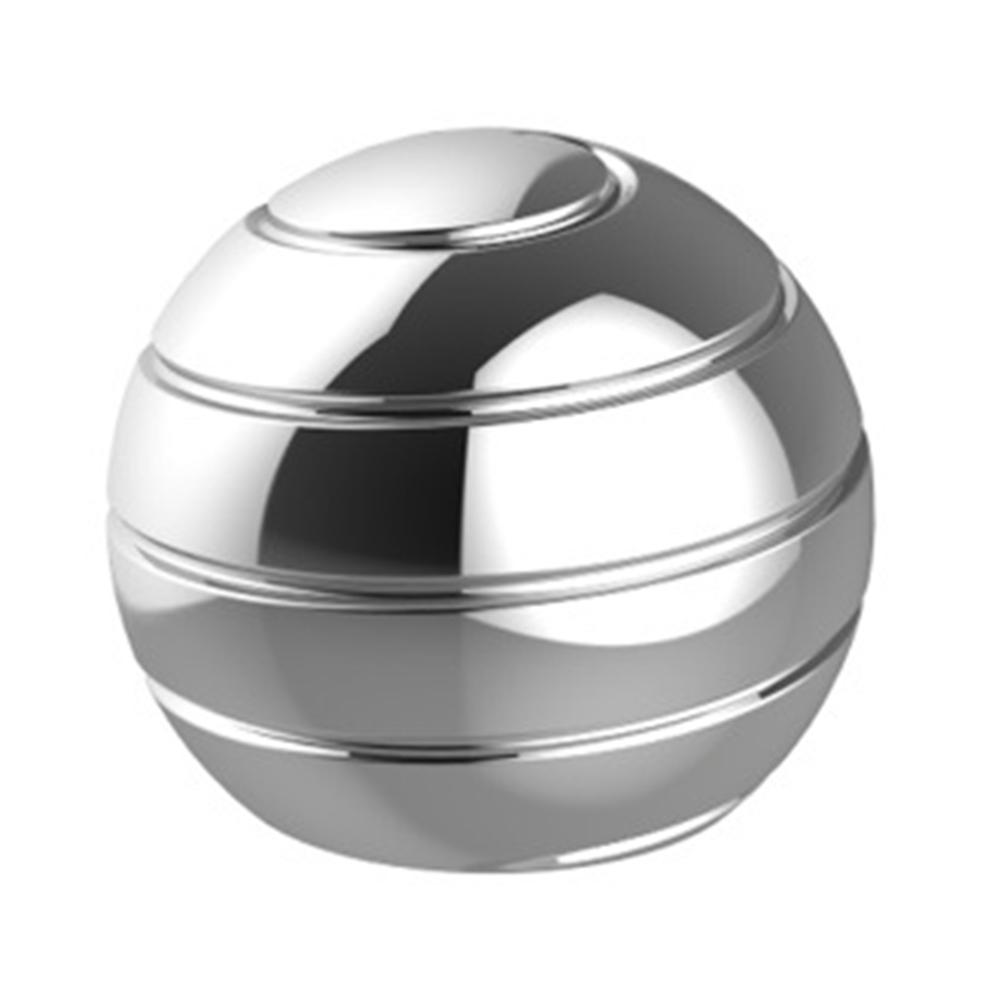 RCtown 45mm Removable Tabletop Metal Helix Ball Gyro Stress Reliver Toy