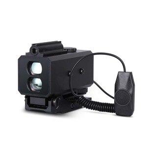 Image 2 - 700m aralığı bulucu ile ayarlanabilir kapsam dağı avcılık kapsamı için LE032 lazer telemetre 21mm ray optik taktik dişli