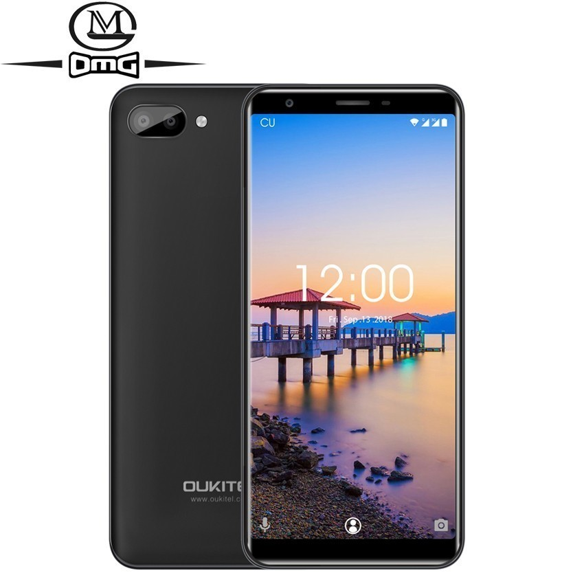 "OUKITEL C11 Android 8.1 5.5"" 18:9 Smartphone MTK6580A Quad Core 1GB RAM 8GB ROM 3400mAh Battery 5MP+2MP/2MP mobile phone"