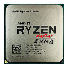 AMD Ryzen 5 2600 R5 2600 3.4 GHz Six-Core Twelve-Core 65W CPU Processor YD2600BBM6IAF Socket AM4(China)
