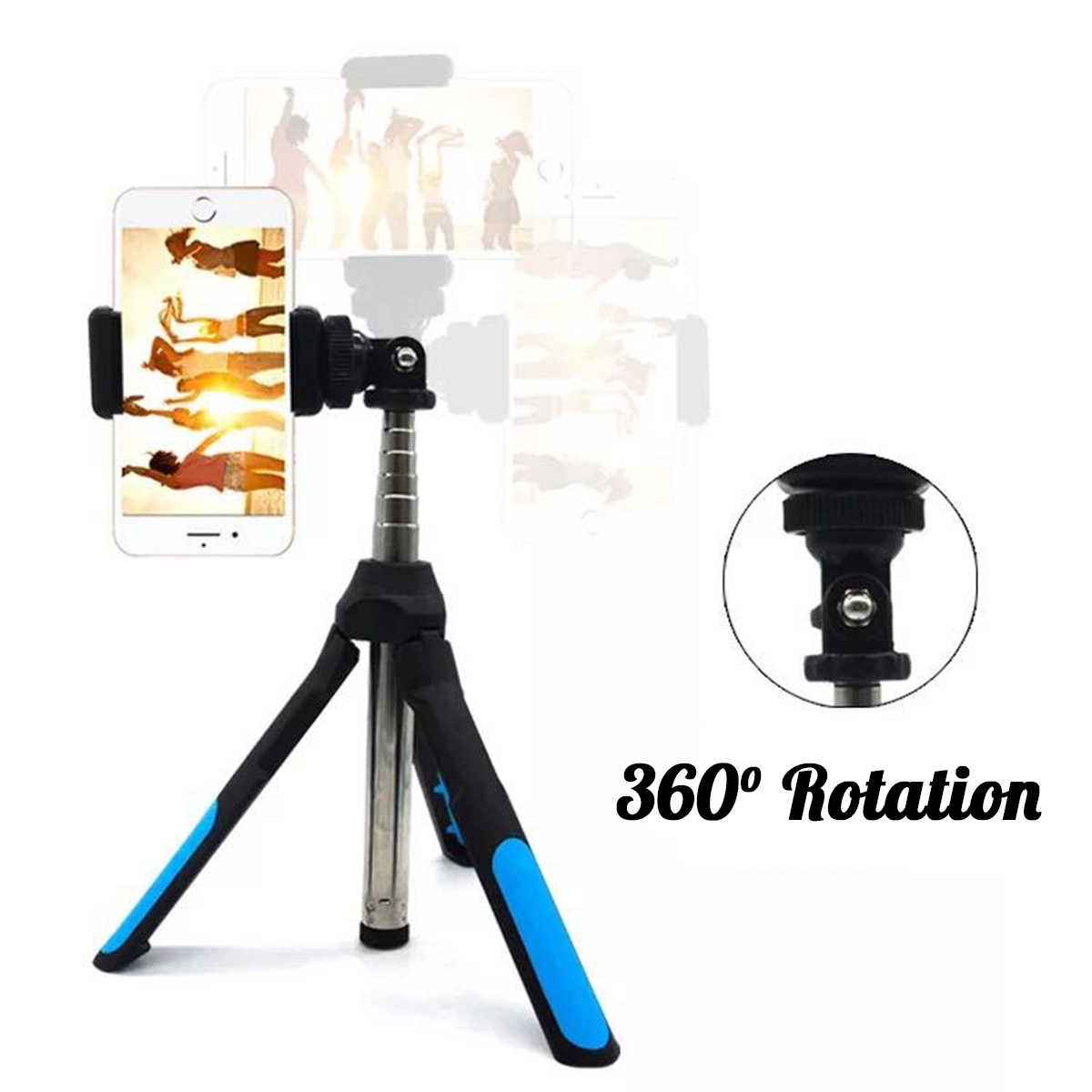 3 в 1 штатив для камеры bluetooth селфи палка Беспроводной монопод для Gopro 5 6 7 спортивная зеркальная камера для iPhone XR XS X 8 смартфон
