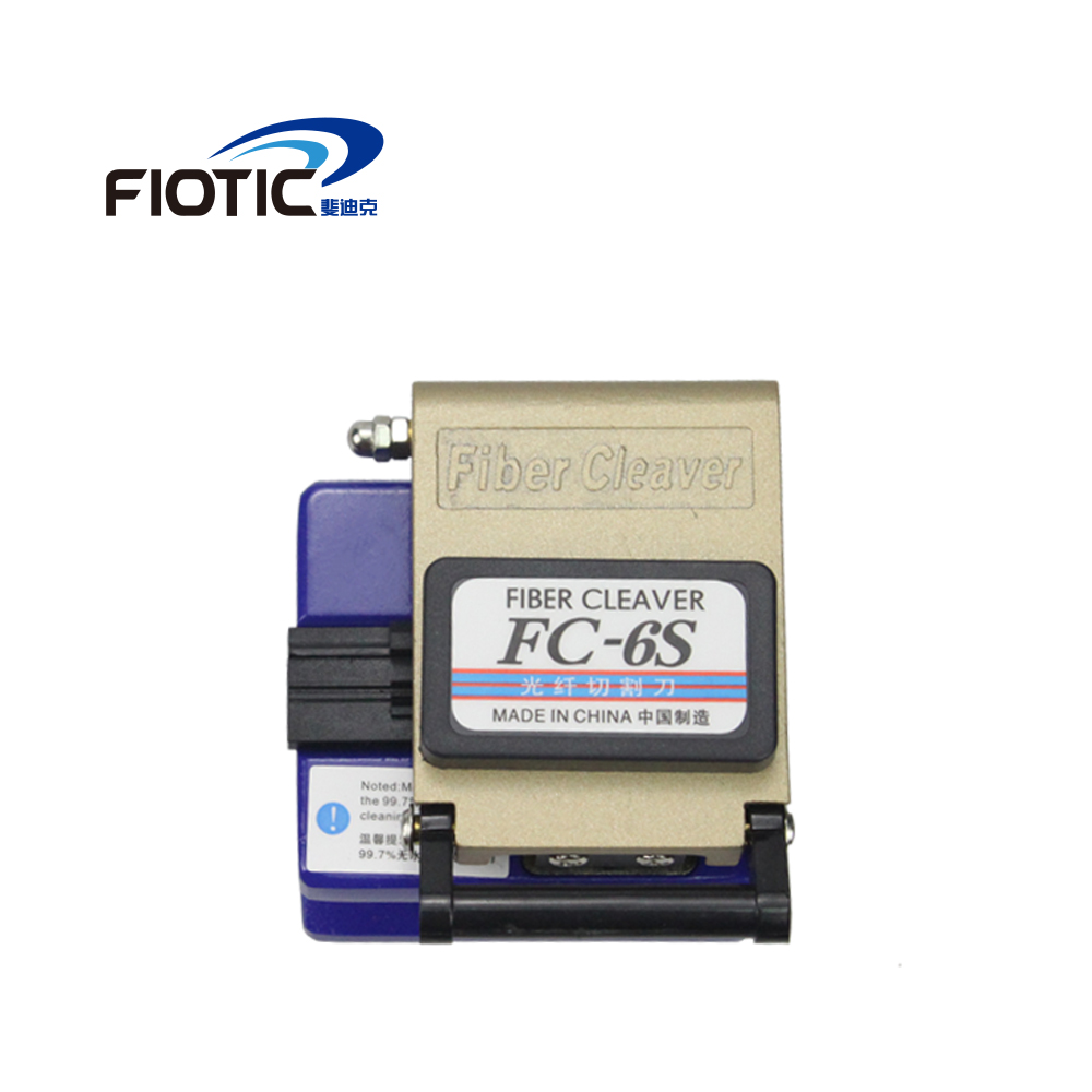 Ftth Tool Fiber Cleaver  FC 6S Optical Fiber Cutting Knife Fiber Optic Cutter Cold Contact Dedicated Metal