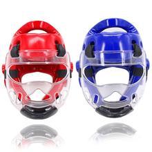 New Removable Sport Helmet Mask for Sanda Karate Muay Thai Taekwondo Boxing Training Kids Adults Men Women
