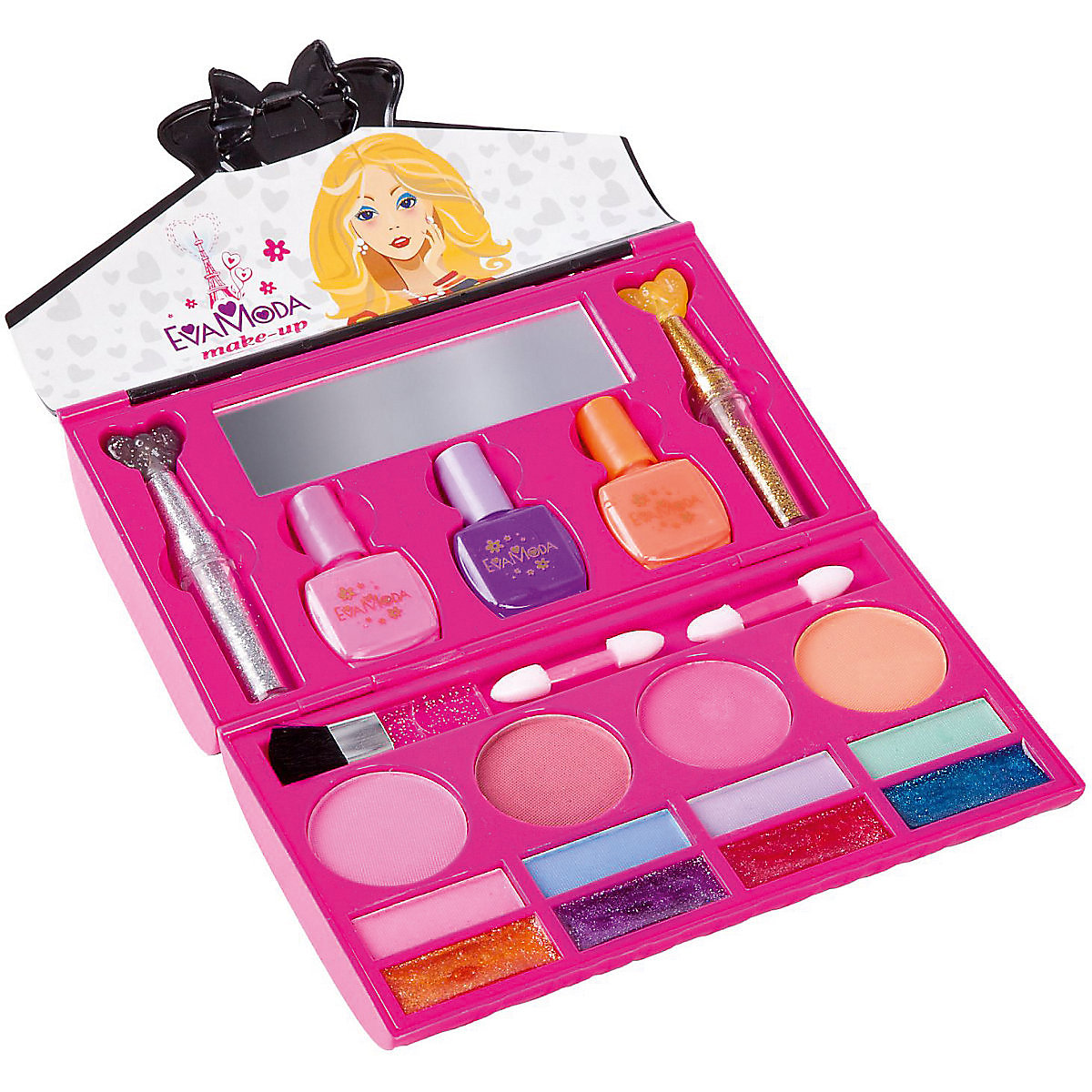 56 шт. маленький косметический набор, игровые игрушки, набор для макияжа, для детей, для девочек, для дошкольников, для детей, красивые модные ... - 3