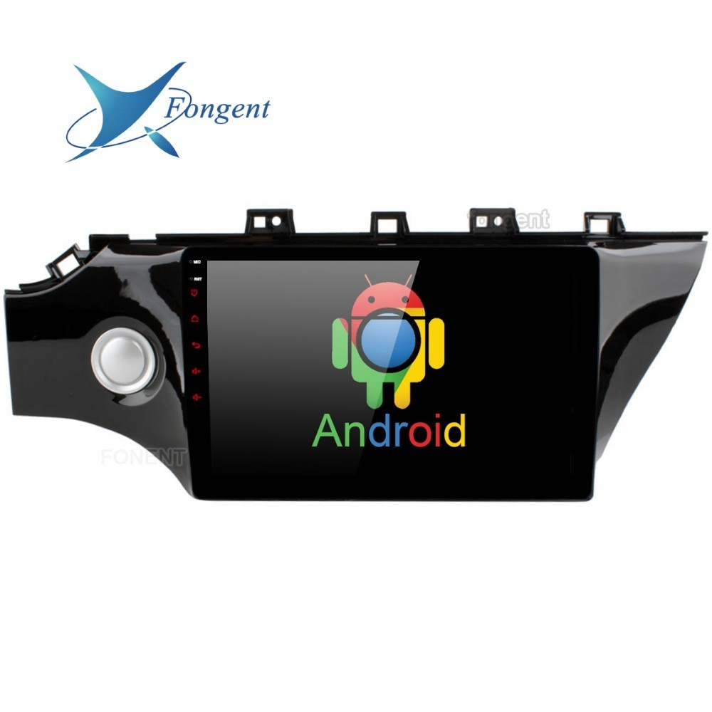 Pour Kia K2 Rio 2017 2018 voiture stéréo Audio GPS Glonass navigateur Android 9.0 Radio Intelligent multimédia lecteur vidéo DAB + DRS