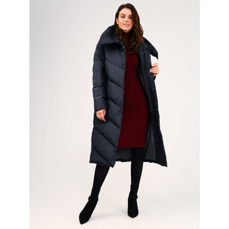 tom farr down jacket woman hooded 2018 winter female clothes coats T4F-W3709_67 christmas long hooded jacket girl 90