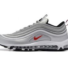 online store 6040e 27927 Clássico Nike Air Max Prata 97 Og Retro 3 m Tênis de corrida Dos Homens  Respirável