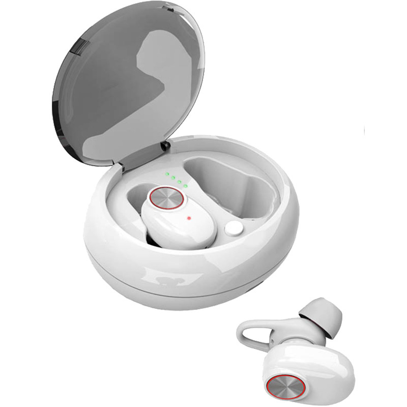 Portable Q5 TWS Dual Earphone Bluetooth 5 0 Headphones Stereo Handsfree Wireless Headset Mini Cordless Earbud With Charging Box in Bluetooth Earphones Headphones from Consumer Electronics