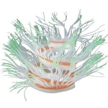 Variety Anemone Soft Colorful Artificial Silicone Coral Fish Tank Aquarium Decoration Accessories