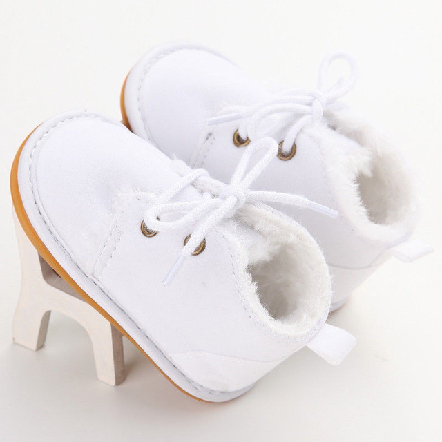 0-18M Infant Baby Girl Boy Winter Snow Booties Fur Boots Toddler Warm Strappy Shoes Newborn Brand Casual Little Kid Multi Colors