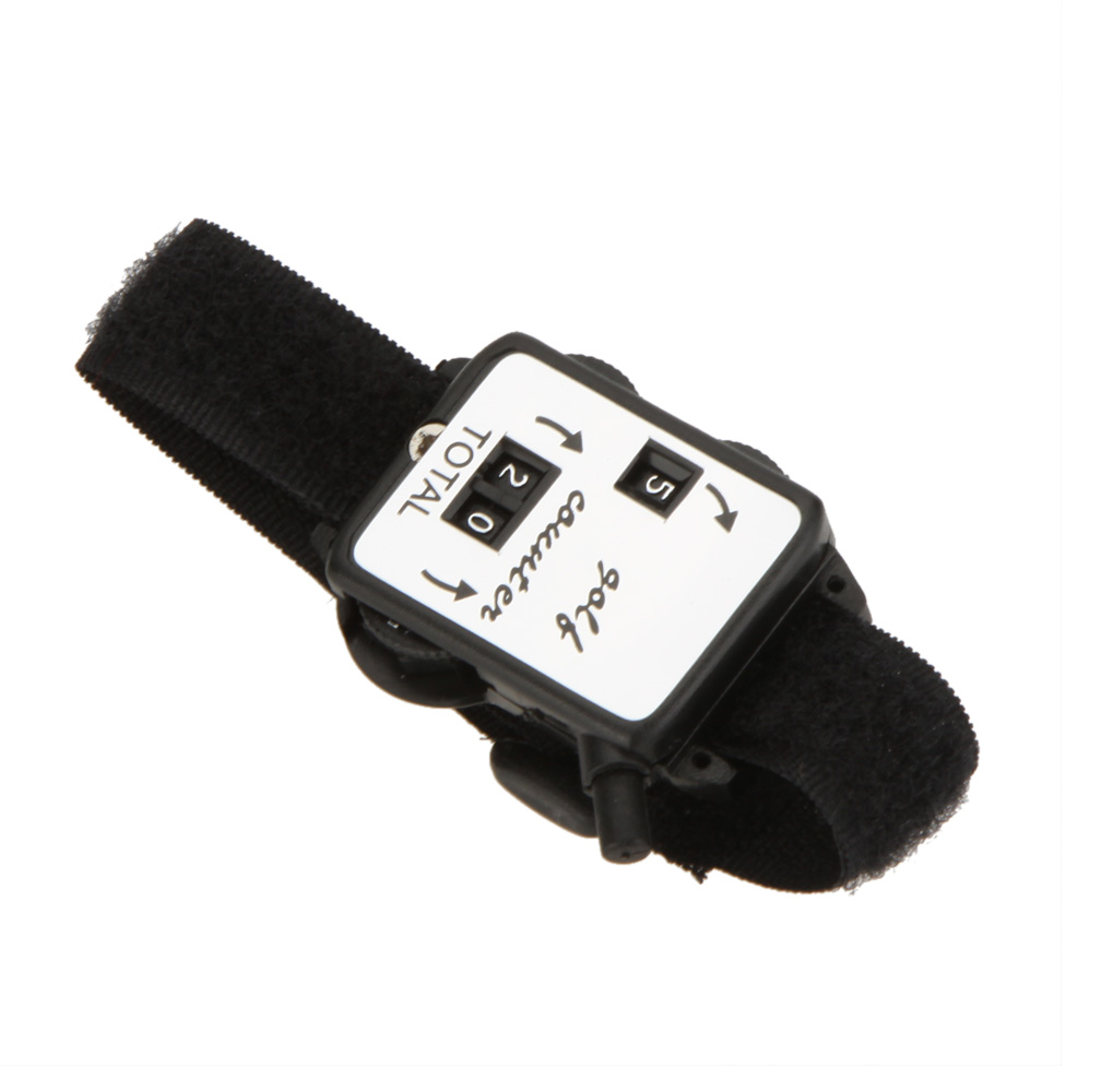 Image 3 - Black Golf Training Aids Wristband Golf Club Stroke Score Keeper Count Watch Putt Shot Counter Sports Golf Accessories-in Golf Training Aids from Sports & Entertainment