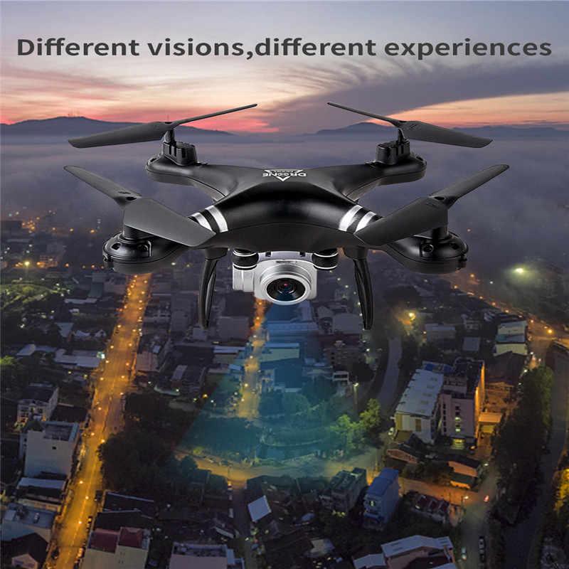 JD22 360 rollo HD 1080 P HD WIFI FPV RC Drone RC Quadcopter Drone con cámara profesional plegable Mini Drone de Ángel helicóptero