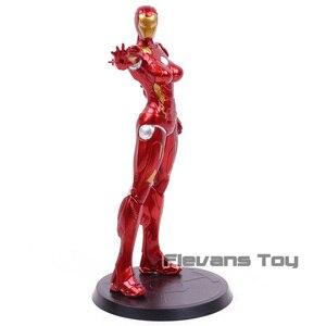 Image 4 - Super héros Stark Industries, x faction, dame Pepper Potts en PVC MK8, jouet modèle à collectionner