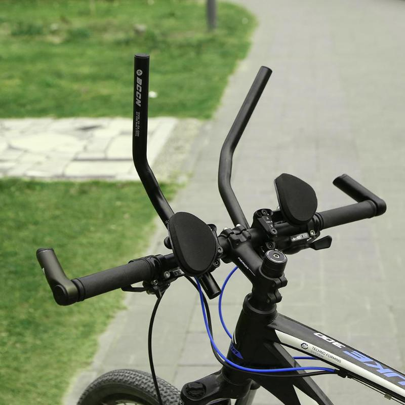 Carbon Road MTB Bike TT Triathlon Aero Bar rest Handlebar Bicycle Aerobar Matte