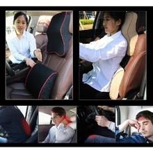 4 Colors Car Waist Backrest Car Cushion Car Lumbar Support Waist Backrest Memory Foam Back Cushion