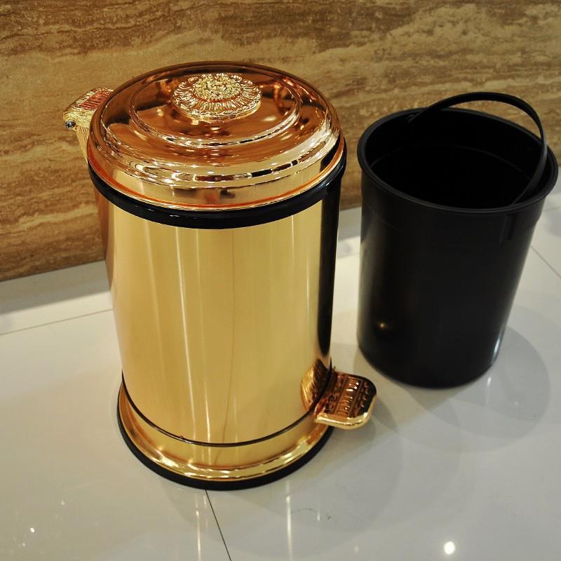 Bag Poubelle Cuisine Cocina Vuilnisbak Banheiro Compost Cubo De Basura Garbage Pedal Dustbin Lixeira Recycle Bin Trash Can in Waste Bins from Home Garden